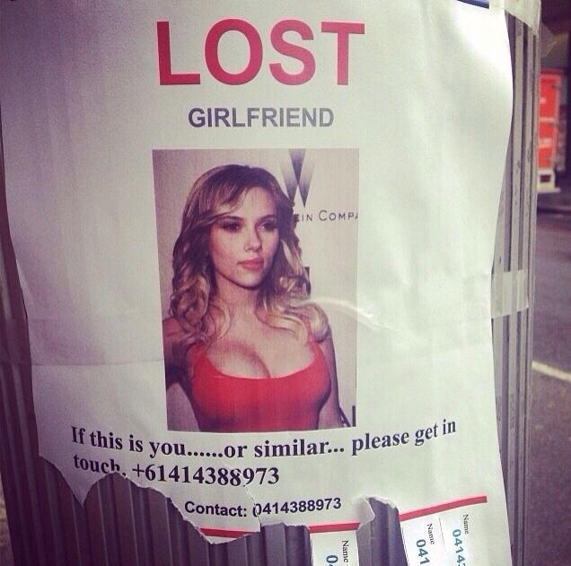 Losy girlfriend... lol