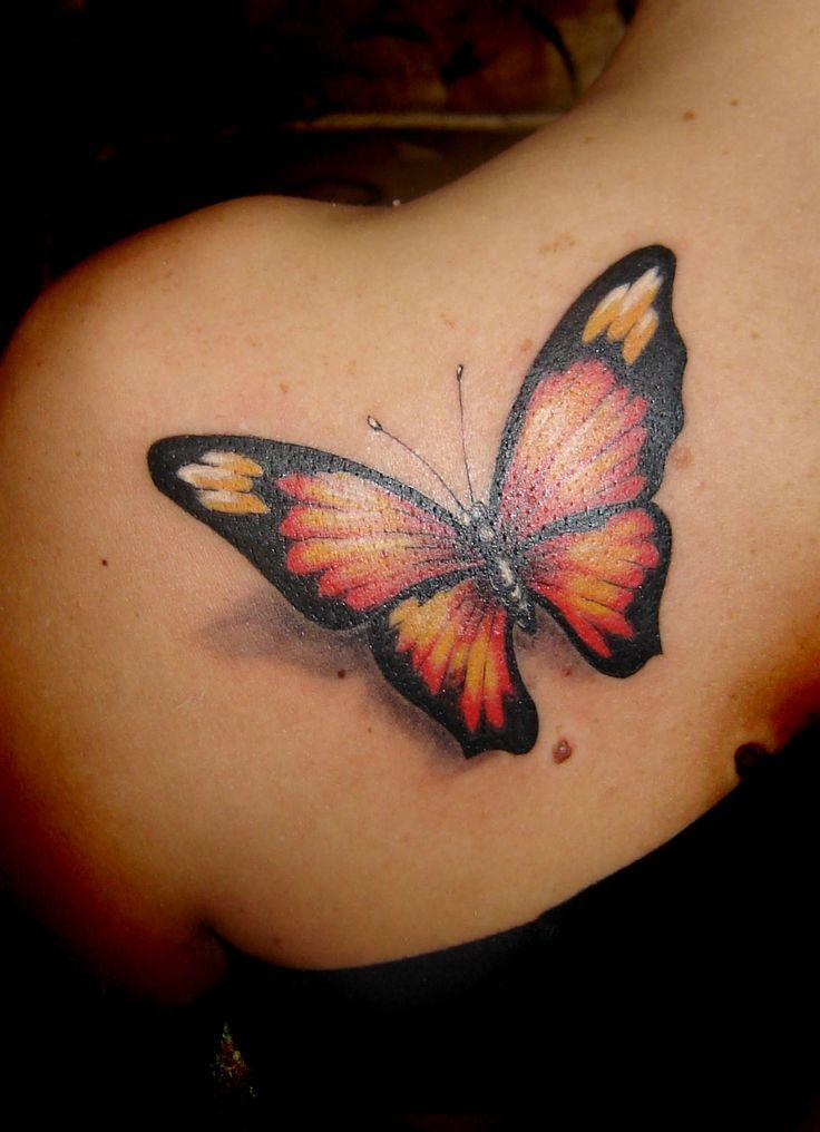 butterfly tattoo!!