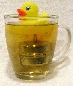 Make a Tea Duck infuser