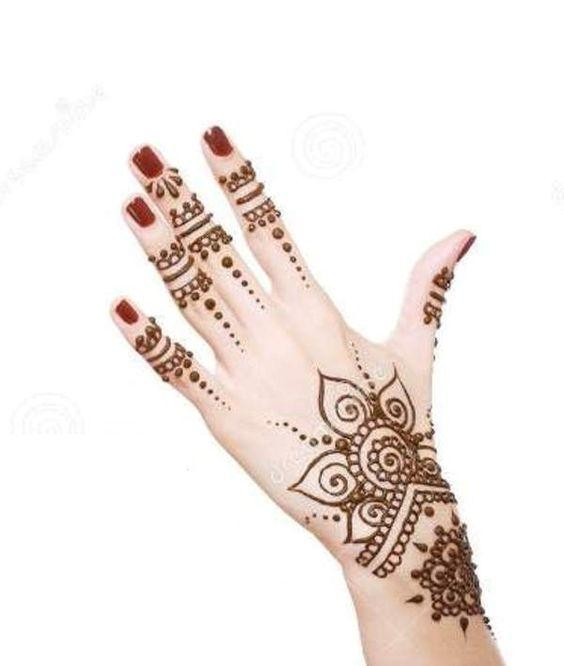 simple Beautiful  heena design