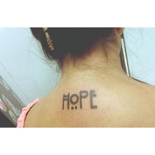 Hope tattos