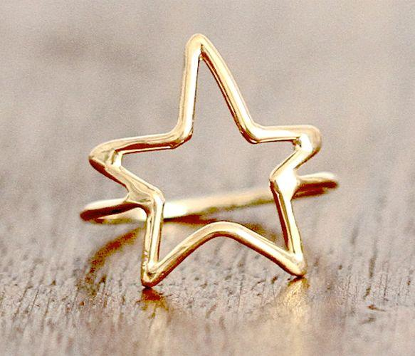 Star Ring - You deserve a gold star