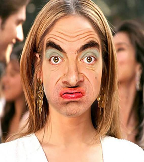 Funny Face Swap Mr.Bean