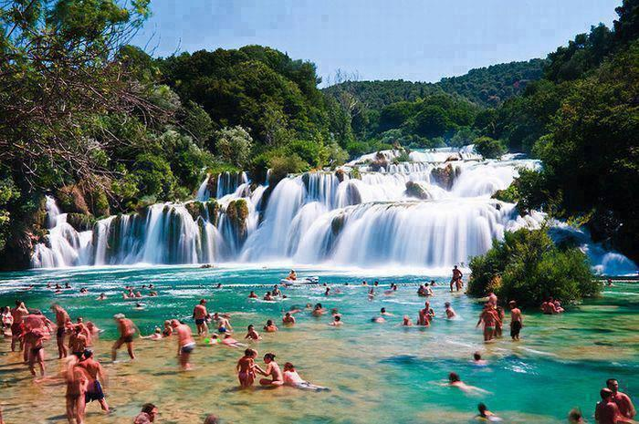 Summer in Park Krka, Croatia