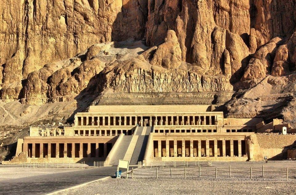 The Mortuary Temple of Queen Hatshepsut Egypt