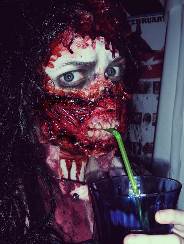 Amazing zombie makeup