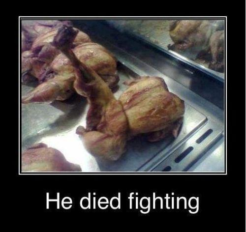 Died Fighting