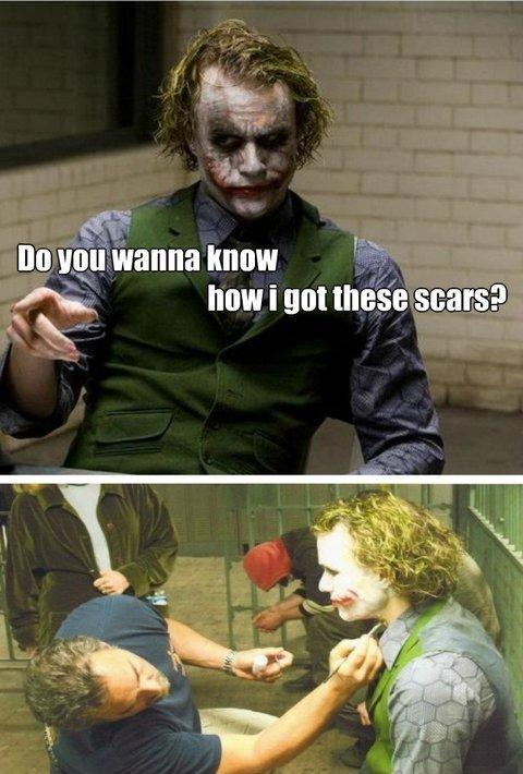 Anti joker or just literally, not sure
