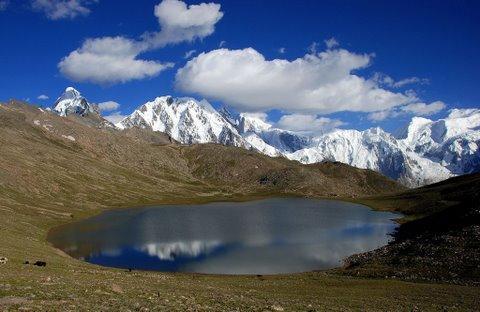 Amazing lake in North of Pakistan