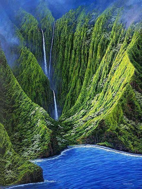 Most Beautiful waterfalls in Hawaii