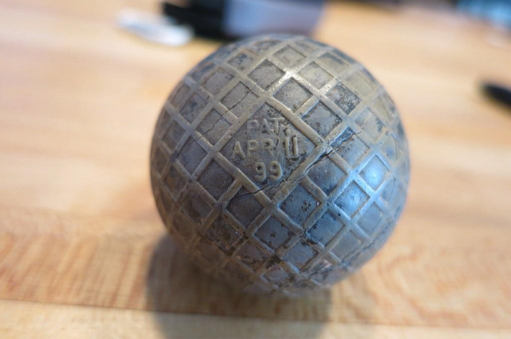 1899 golf ball dug up in the Bronx