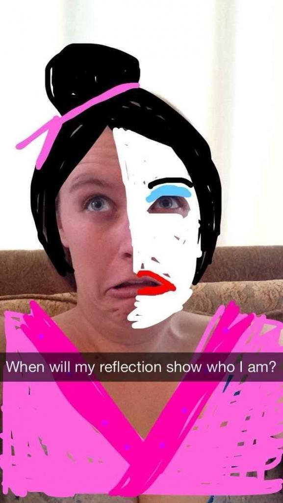 And Mulan from Mulan Hilarious Proof That Snapchat Can Turn Anyone Int