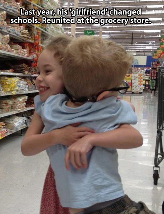 Reunited at grocery store... Cute Love story