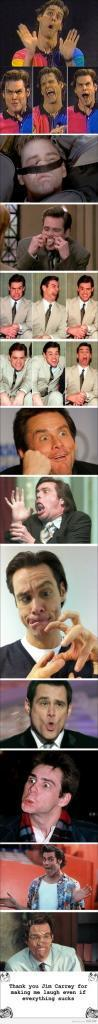 Funniest Faces of Jim Carrey