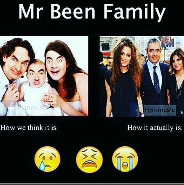 Mr Been familly