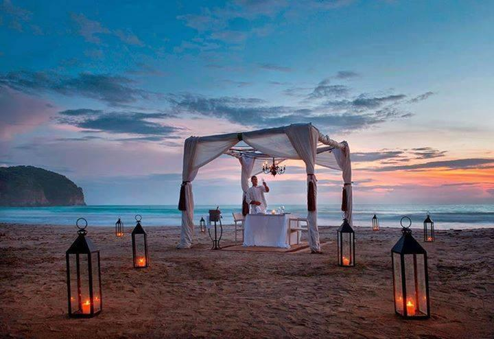 Romantic Dinner on the Beach... tag your Date