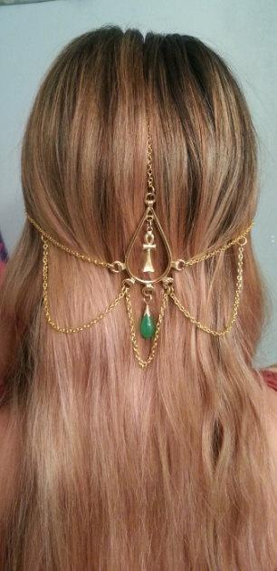 Egyptian Queen Head Jewelry