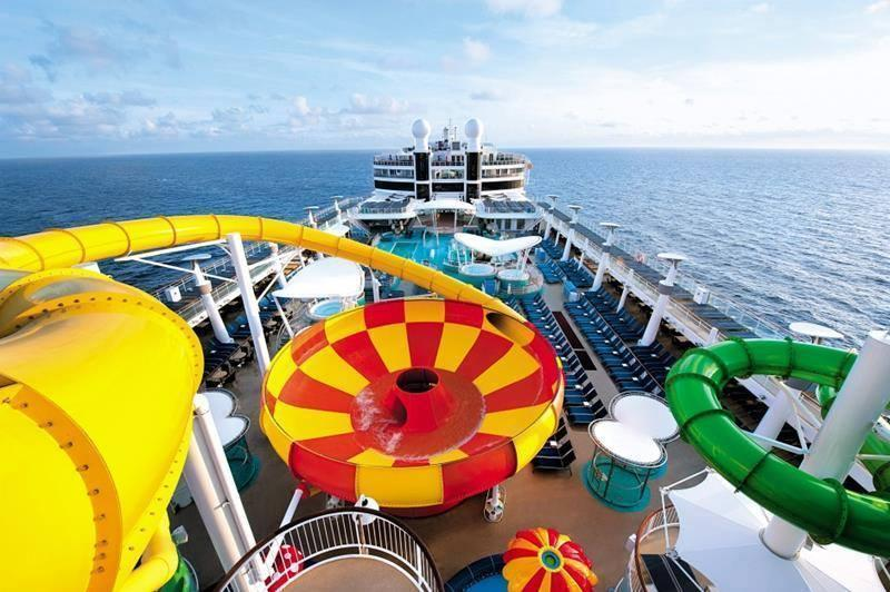 Amazing Water Parks on Boat