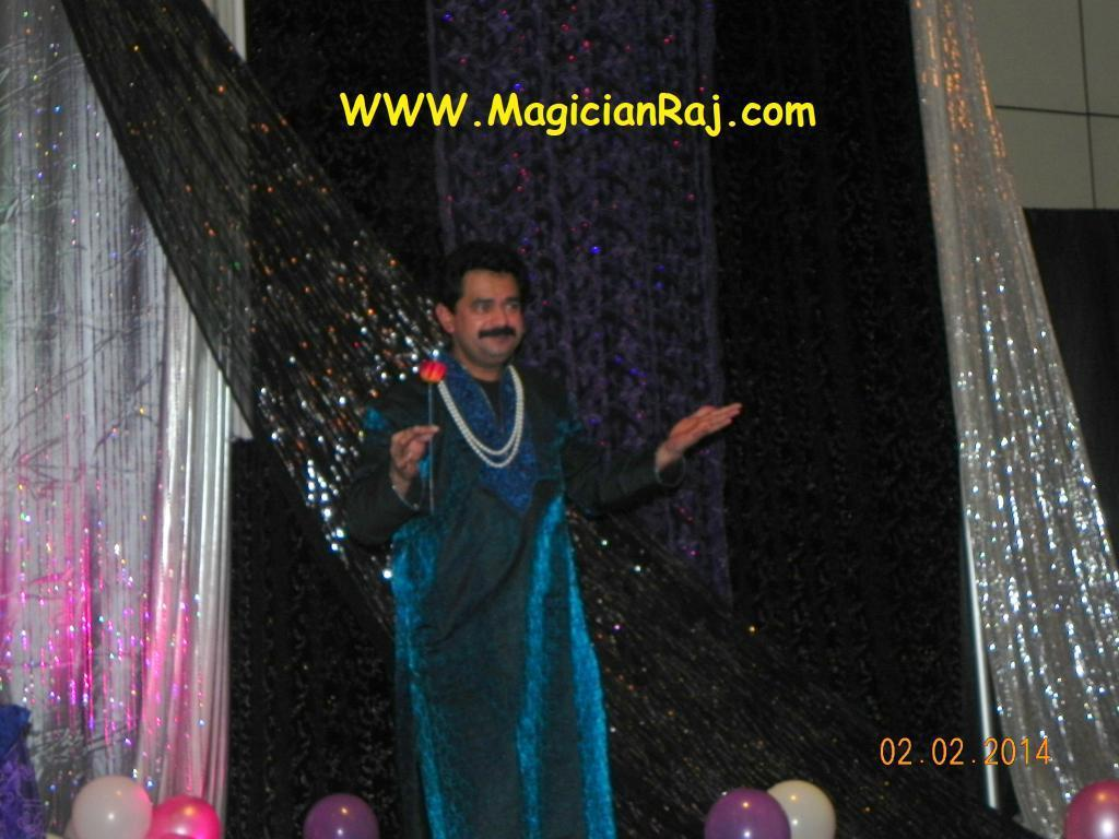 Indian Magician and illusionist