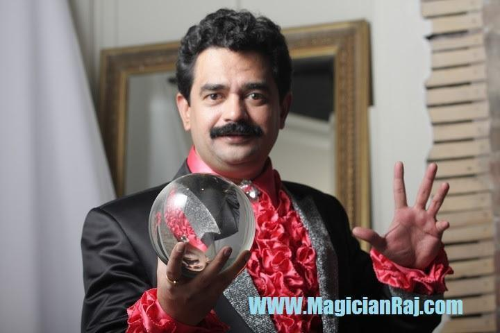 Magician and illusionist Raj