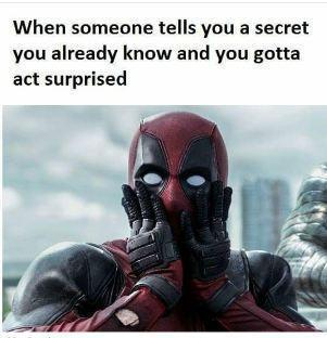 A Secret you already known