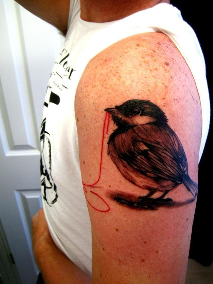 Bird Tattoos on arm