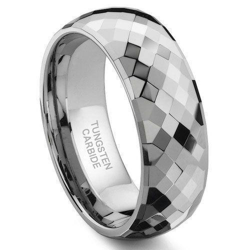 Tungsten Wedding Bands, Carbide Rings Men and Women Availability
