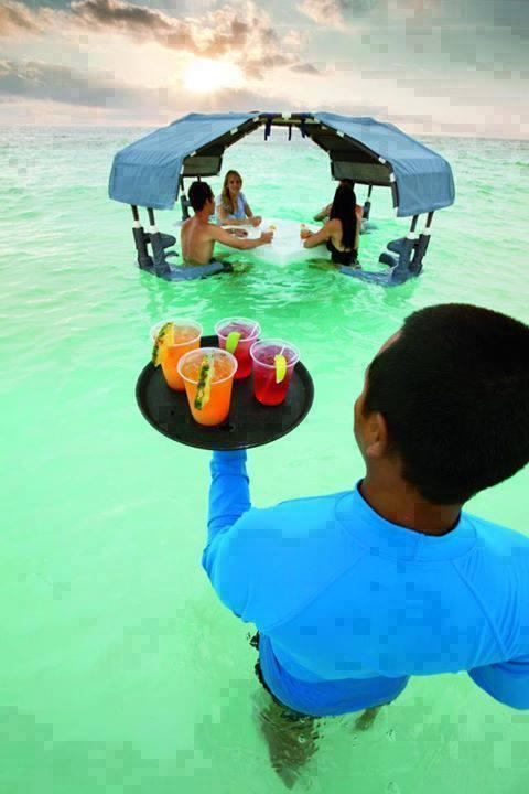 Can I get you a drink at Ritz-Carlton, Grand Cayman