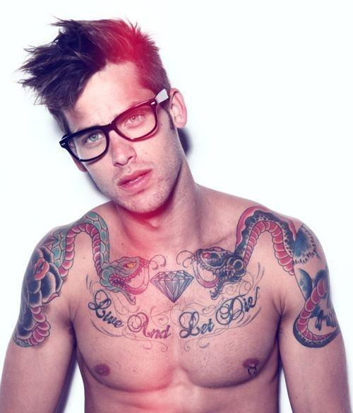 BERRY hot men Tattoo hotties