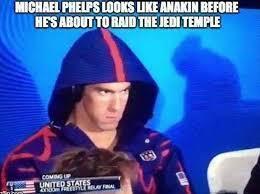 funny Michael Phelps meme