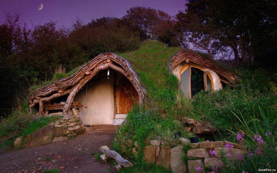 Unique Fairy Tale Cottage Design