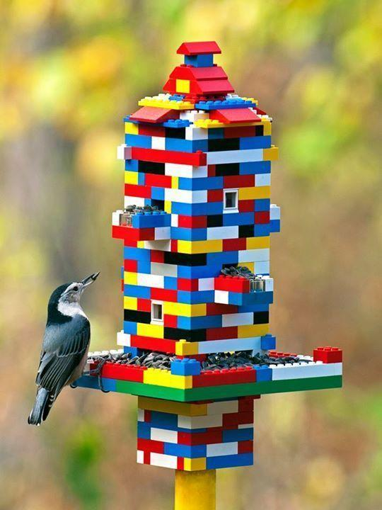 This is possible the most colourful and fun Bird Feeder Craft I have s