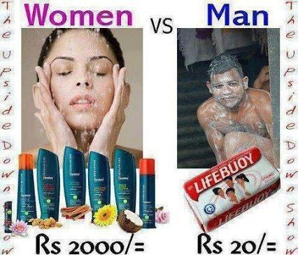 Man VS Women