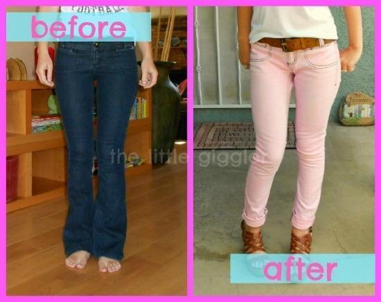 Pinstrosity DIY Pastel Jean Pains