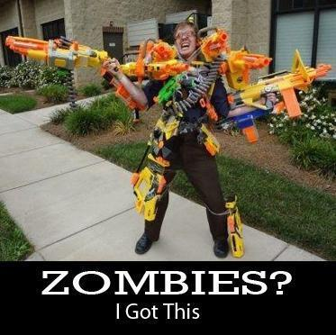 Zombies Got These Guns
