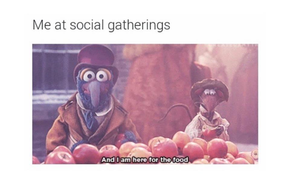 Me at Social Gathering