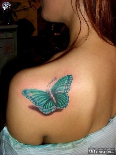 shoulder butterfly