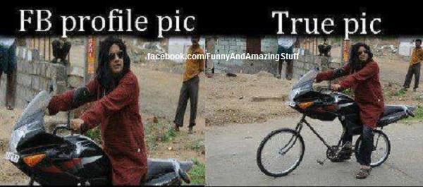 FB Profile pic vs true pic