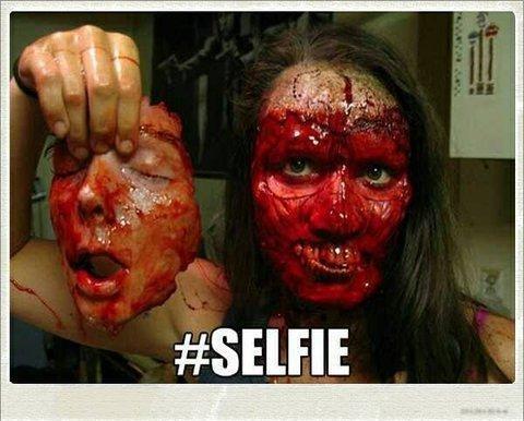 Creepy selfie