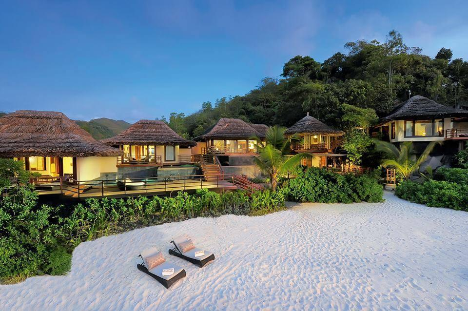 Luxury Resorts at Seychelles Beach