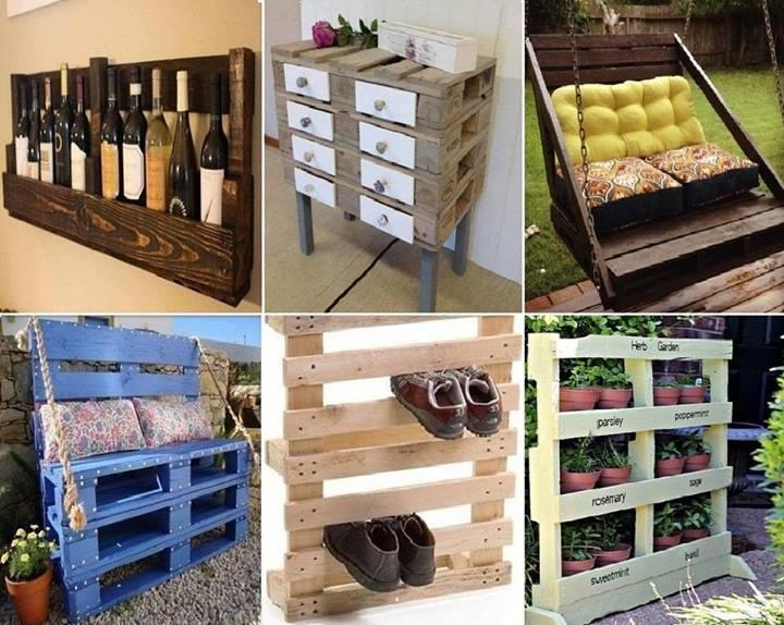 Ideas on how to recycle pallets