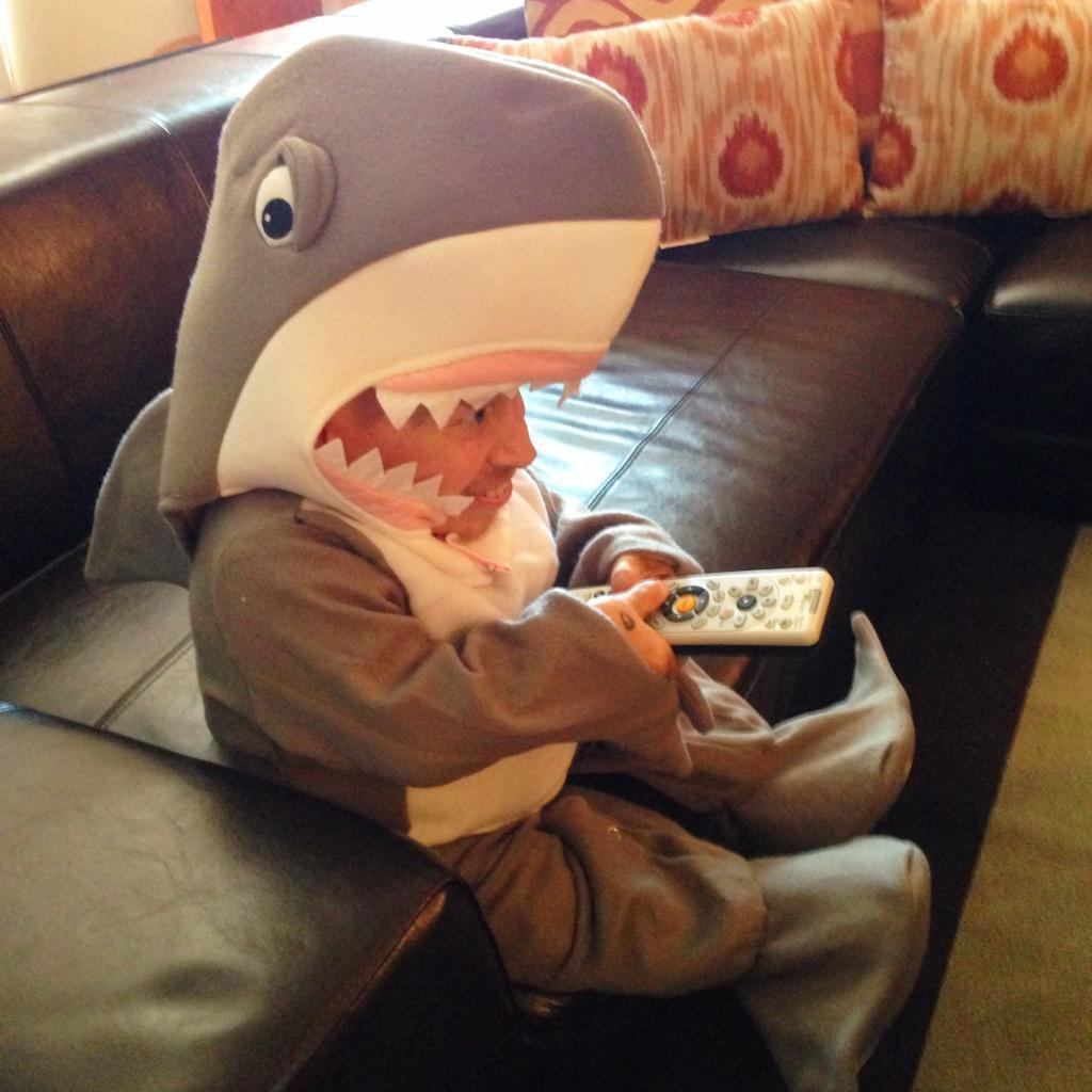 Got a little too excited about Shark Week last night