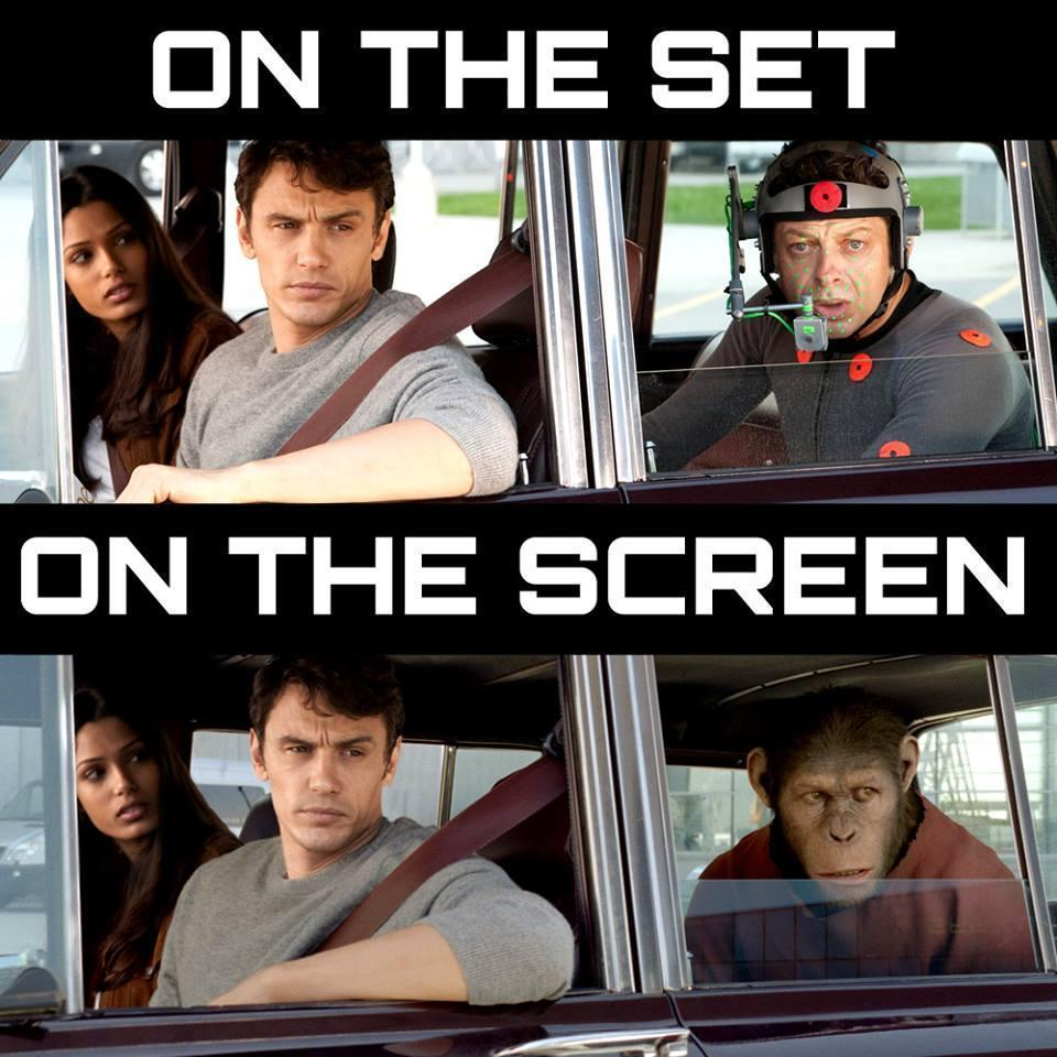 On the Screen on the Set