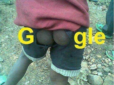 Google in Africa... LOL