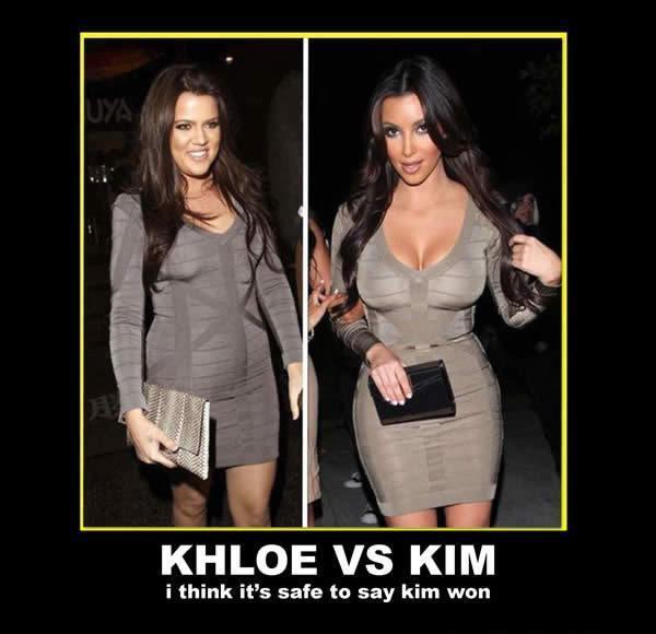 Khloe Vs Kim !