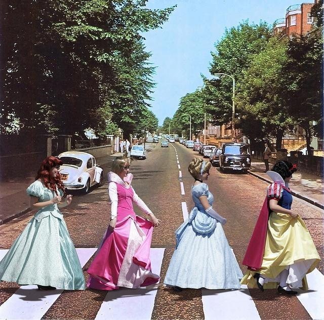 The Disney Princess Abbey Road Walk - oh sister of mine, lets do this