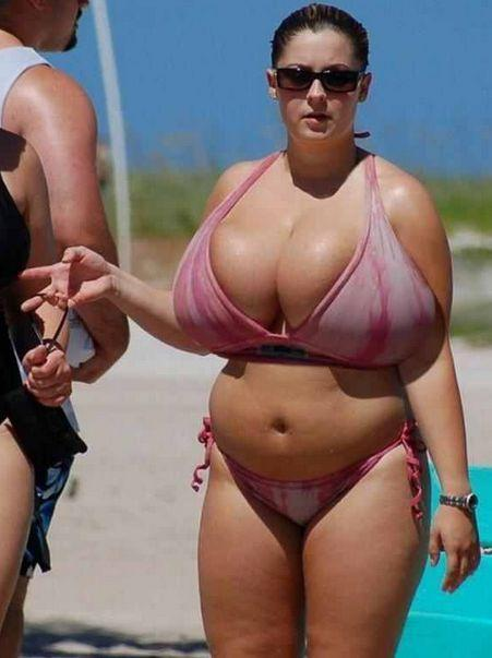 Bikini Makes Huge Splash at the Beach