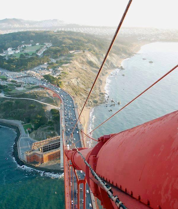 Amazing View From The Golden Gate Bridge!