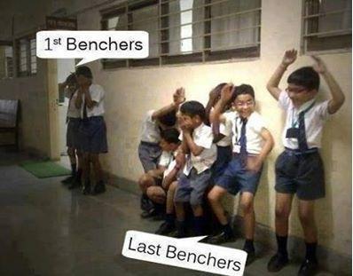 Last Benchers Always Enjoy