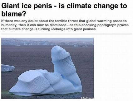 Global warming is making earth horny